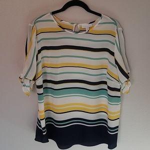 Charter Club sheer blouse